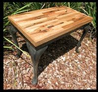 Redesigned using hardwood timbers from an old sofa! www.newleafwoodwork.com.au
