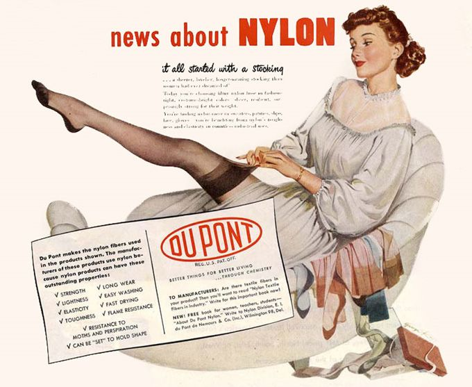 Image result for nylons advert