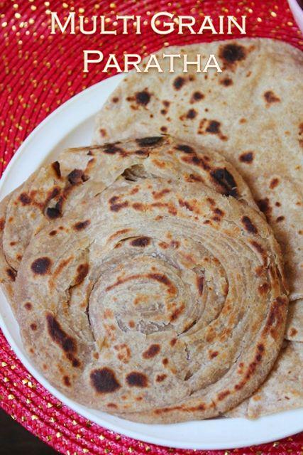 YUMMY TUMMY: Multigrain Paratha Recipe - How to Make Soft Multigrain Roti Recipe