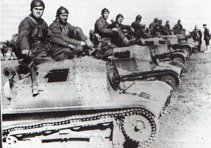 The TKS Tankette was Poland's most common tank at the beginning of World War II. Marginally useful for reconnaissance roles, their poor armament and thin armor made them exceptionally ineffective for combat, A limited number had their 8mm machine... Pin by Paolo Marzioli