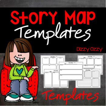 Story Map Templates features 8 different story maps.These story maps vary and include:-characters-setting-plot-problem-solution-Beginning, Middle, EndEach template includes 2 versions: blank boxes (for drawing) and lined boxes (for writing)If you like this resource, please follow my store by clicking on the green star at the top of the page!