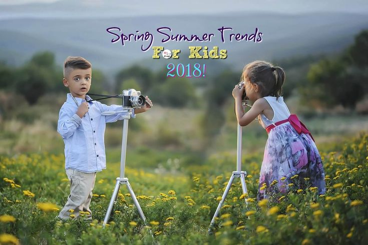 We are back with SPRING SUMMER TRENDS 2018 for kids and this summer is all about exploration and travel. With Summer vacations coming up soon, we couldn't have asked for a better theme. So go on, pick some inspiration from the upcoming trends and design your kids summer wardrobe.