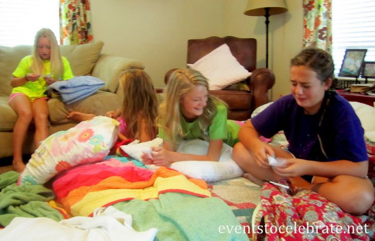 sleepover question Answer these 6 questions before allowing your child to go to a summer sleepover  being able to answer them is extremely important to help better ensure a cybersafe sleepover, hughes wrote in .