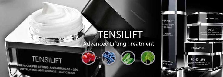 tensilift keenwell Tensilift keenwell productos enriquecidos con células madre vegetales  Tensilift keenwell contiene principios activos botánicos antiedad, ha sido especialmente creada para pieles maduras a  partir de los 40 años. Ayuda a luchar contra el  envejecimiento prematuro causado por el discurrir del tiempo.