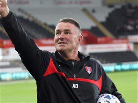 READ | Rotherham United  Andy Dibble