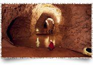 Mønsted Kalkgruber - En endeløs labyrint af minegange