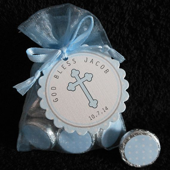 Hey, I found this really awesome Etsy listing at https://www.etsy.com/listing/176424388/personalized-hershey-kiss-baptism-favor