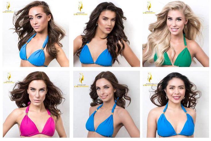 Face of Denmark 2016 Finalists dazzled in the Bikini Shots