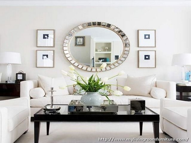 Round Mirrors For Living Room