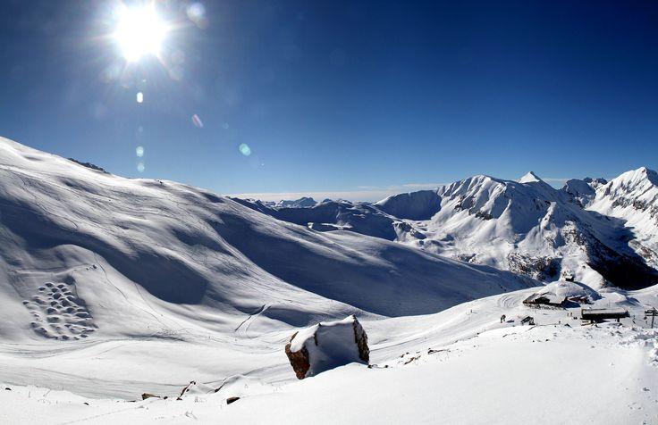 Sommet de la station des Orres - Hautes-Alpes - France