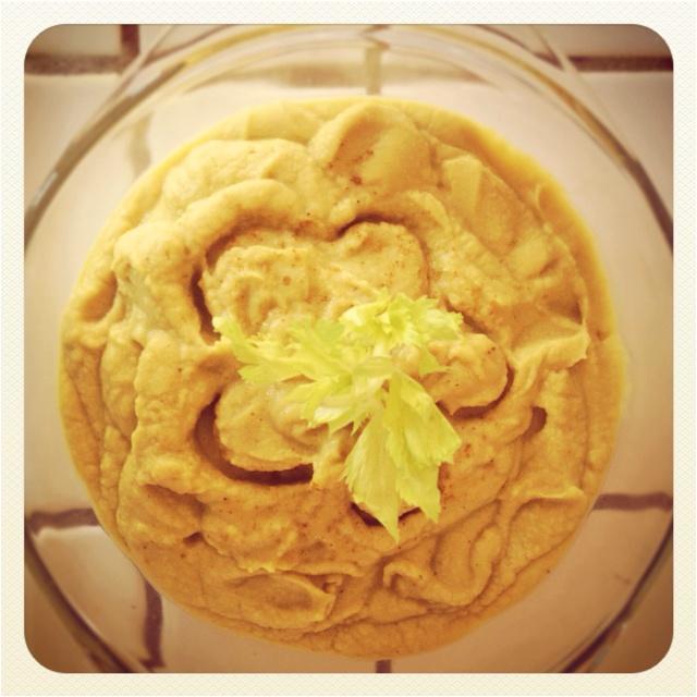 Curry hummus!