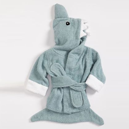 Gifts For the Kiddos: Shark Terry Robe