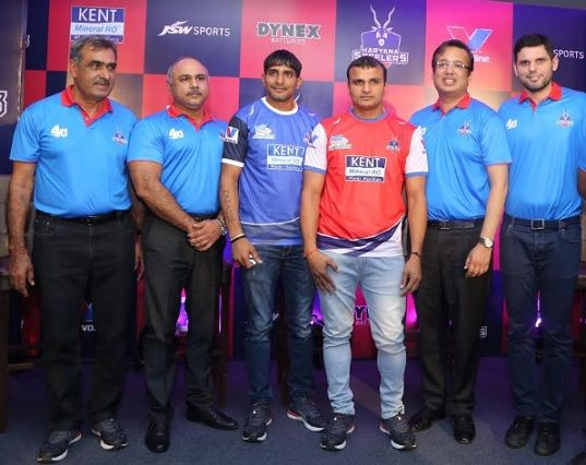 KENT RO Systems Ltd. Signs up as Principal Sponsor of Pro Kabaddi League Team Haryana Steelers