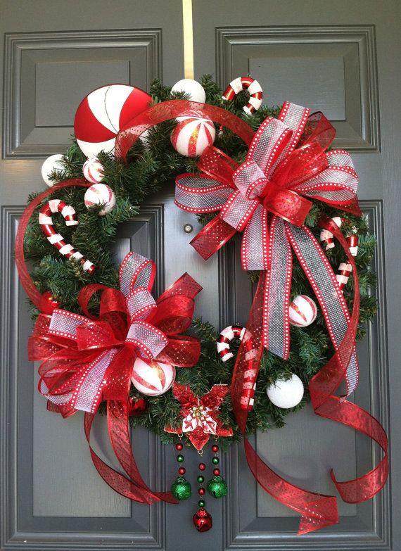 Christmas  Wreath, Christmas Elf  wreath, Elf, Wreath,  Holiday wreath,