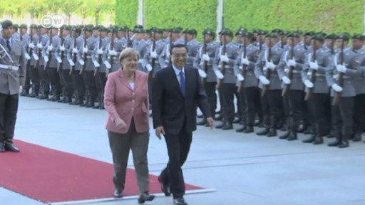 Chinese Premier Li Keqiang meets Merkel in Berlin as Europe pivots to Asia.(June 1st 2017)
