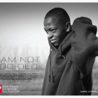 I am not too old. Poster from DTFA. #TeenAdoption