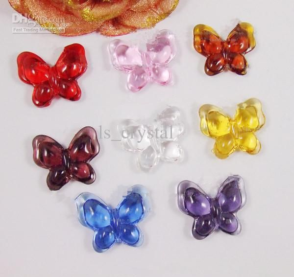 Wholesale 2013 New Arrivals Colorful Butterfly Shape Acrylic Beads for Curtain Decoration, Free shipping, $23.96-26.57/Kilogram   DHgate