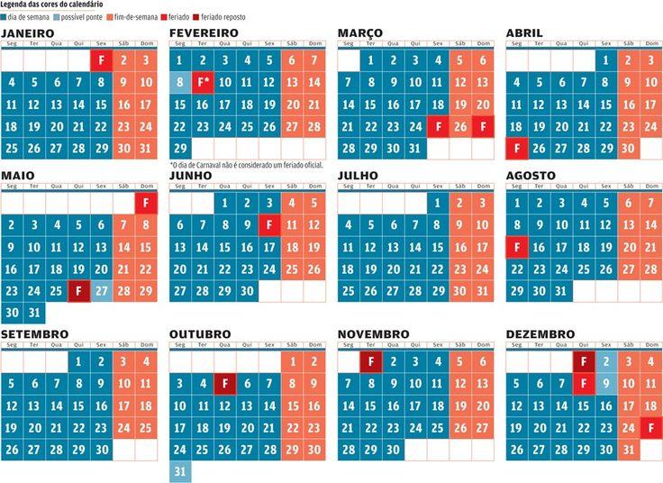 """Regresso de quatro feriados assegura três """"pontes"""" em 2016. Consulte o calendário - Política - Jornal de Negócios"""