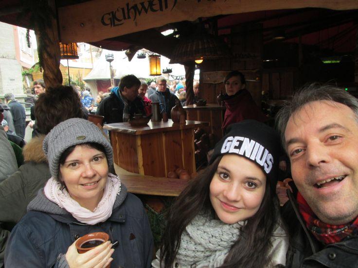 ...mit meinen Schätzen auf dem Esslinger Weihnachtsmarkt...