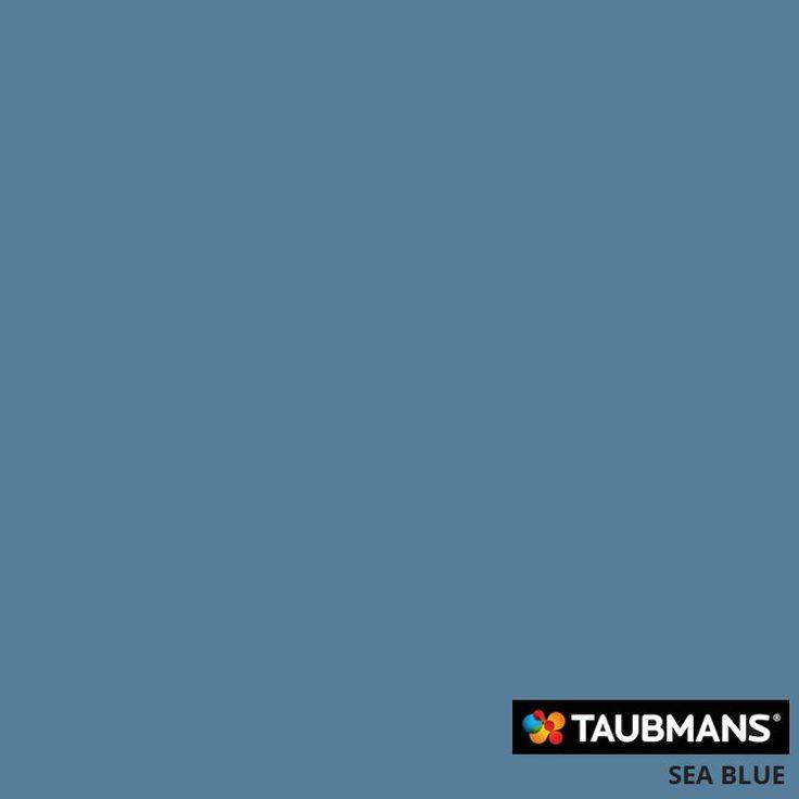 #Taubmanscolour #seablue