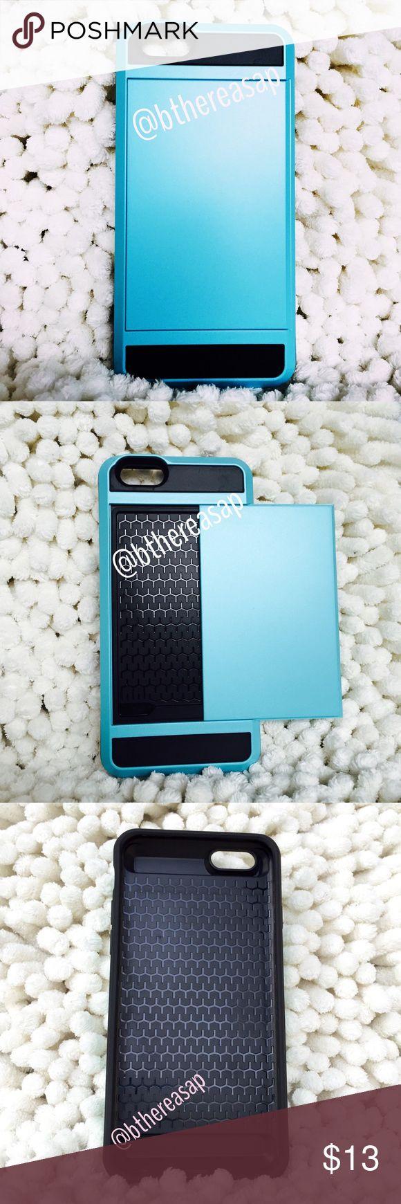 Plan cellule dynamis sur defender - Iphone 6 6s 7 8 Card Case Light Blue Boutique