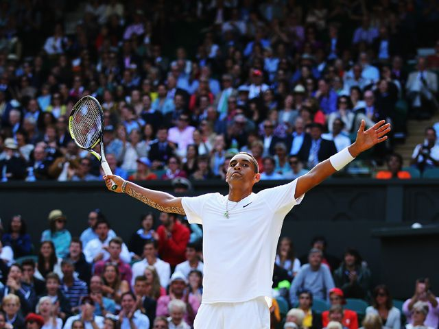 Result: Nick Kyrgios beats Feliciano Lopez to book Andy Murray meeting #Wimbledon #Tennis
