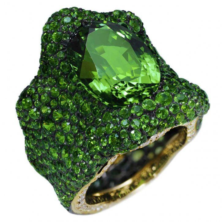 .: Emeralds Cities, Bling Rings, Jewelry Inspiration, Dr. Oz, Garnet, Wizards Of Oz, Green Rings, Emeralds Rings, International Jewellery