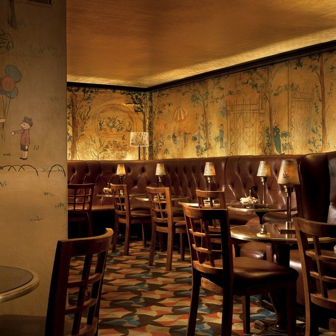 Bemelmans Bar  Few hotel bars are as notable as Bemelmans—but few hotels are as notable as the Carlyle, a favorite of the British royal family. Named in honor of Austro-Hungarian children's book author and illustrator Ludwig Bemelmans (of Madeline fame), this amber pearl from New York's postwar era has several claims to fame. The bar's finest feature is its 1947 mural by Bemelmans himself, the artist's only commissioned work that is still available to the public (he famously bartered it for…