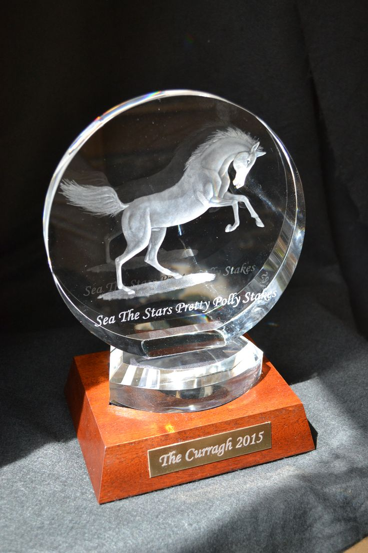 Sea the Stars / Pretty Polly stakes trophy by G.Sullivan