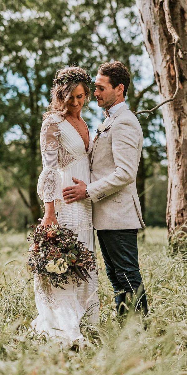 Chic Bridal Dresses: Styles And Silhouettes ❤ See more: http://www.weddingforward.com/bridal-dresses/ #weddings
