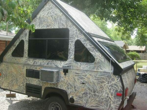 Popular Frame Camper Trailer For Sale