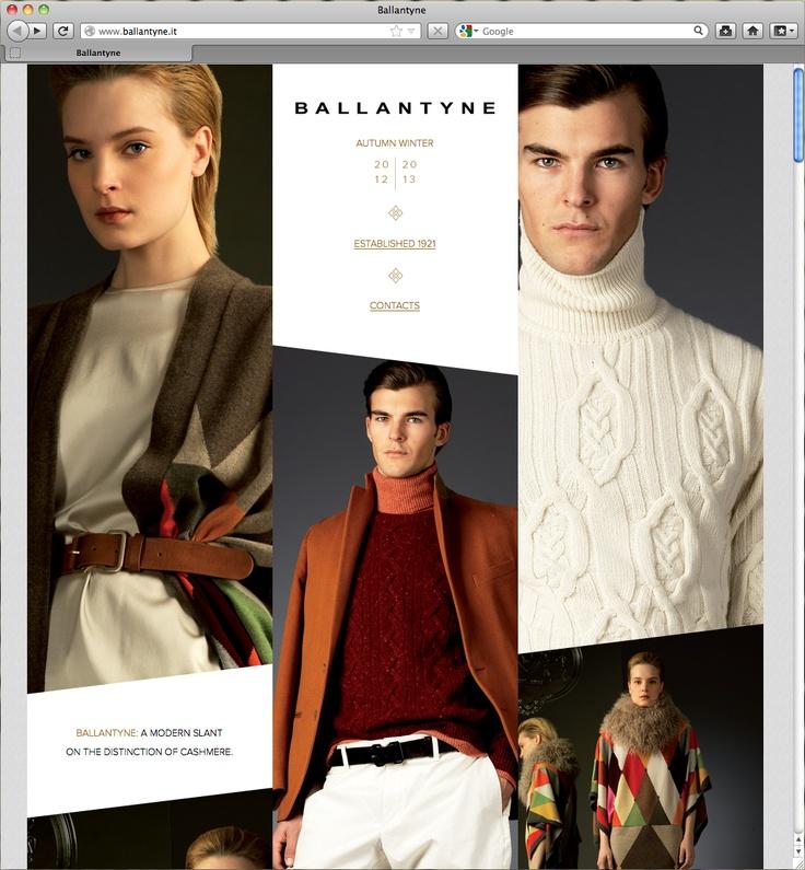 Singlel Page Website / Parallax scrolling  http://www.ballantyne.it