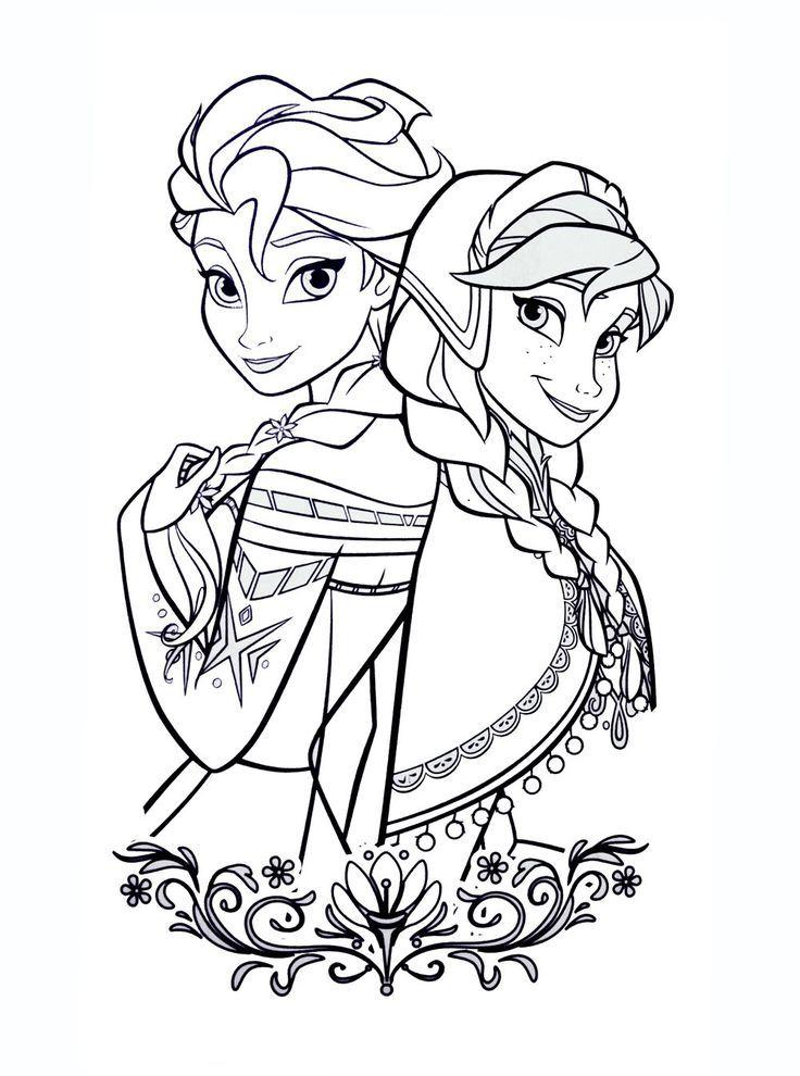 Coloring Pages Frozen To Print Ju Lie Arabic Styla Ausmalbilder Anna Und Elsa Elsa Ausmalbild Ausmalbilder