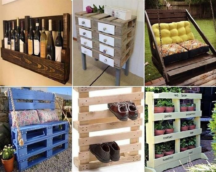 Great uses for wood pallets how to pinterest for Uses for used pallets