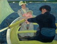 Mary Cassatt (artist)  The Boating Party, 1893/1894  oil on canvas: Artists, 1893 94, Marycassatt, Boats Party, Mary Cassatt, National Galleries, Paintings, Edgar Degas, Oils On Canvas