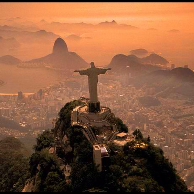 Christ the Redeemer. Rio de Janeiro, Brazil. Totally on my bucket list. travel.nationalge...