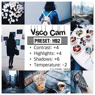Instagram photo by filters.vsco - Monochrome filter. Good for a themed feed that will look similar to these pics.