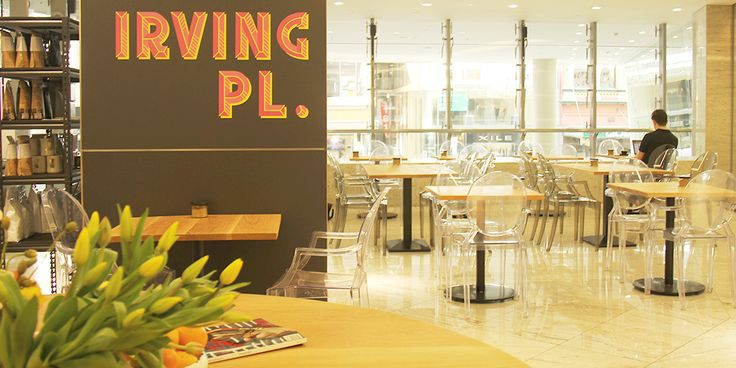 Just a skip around the corner from its older sibling Gramercy Coffee, Irving Place is inside the Wintergarden centre in Brisbane City.