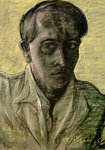 The last Self portrait - Witkacy  11 VIII 1939