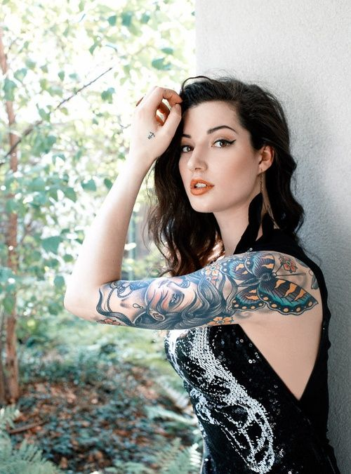 Mod Girls: 58 Lindas mulheres tatuadas