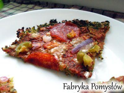 Fabryka Pomysłów: Fit pizza na brokułowym spodzie