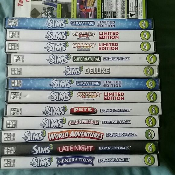 how to add sims 3 expansion packs