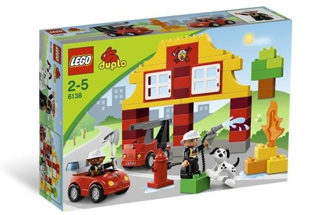 My First LEGO® DUPLO® Fire Station