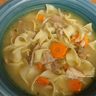 "Day-After-Thanksgiving Turkey Carcass Soup I ""This soup is very easy to make and is delicious."""