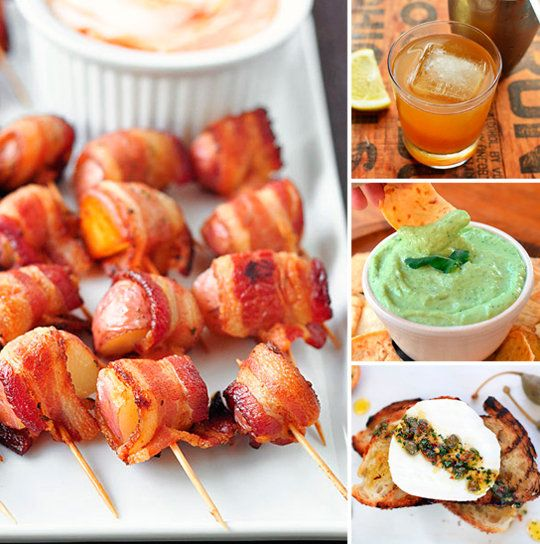 Nibbles & Sips: No-Fuss Menu for a Fancy Cocktail Party Party Menus from The Kitchn