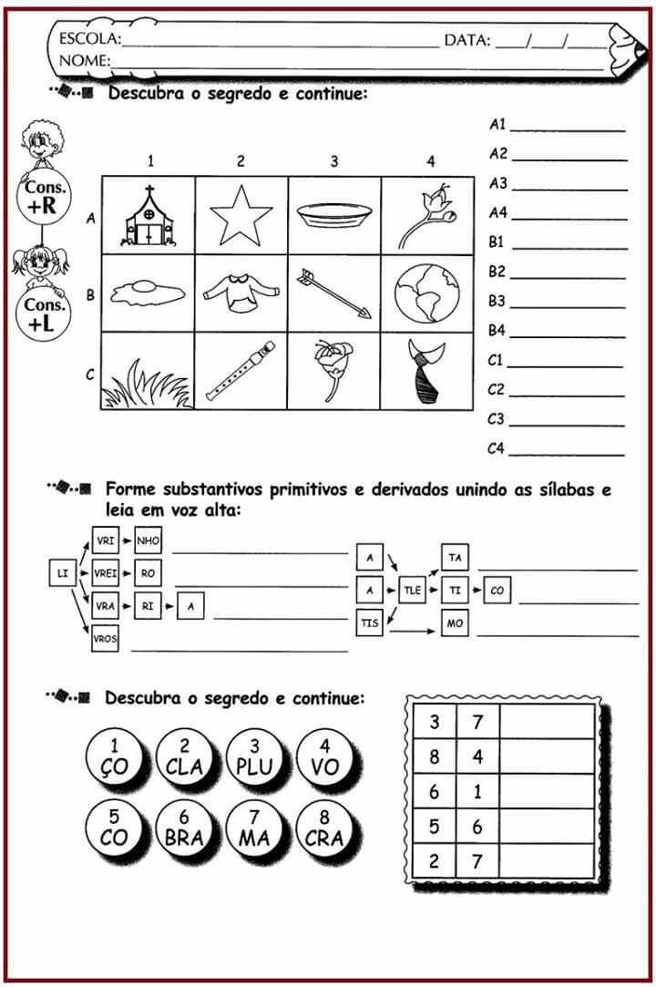 Pin De Veronica Silva Em Atividades Paralisacao Em 2020
