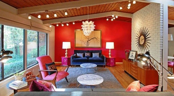 Best 25+ Red Accent Walls Ideas On Pinterest