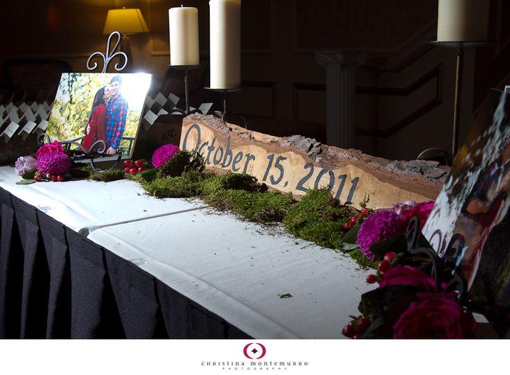 Wedding Details: Woodsy Wedding Theme | Pittsburgh Wedding Photographer | Christina Montemurro