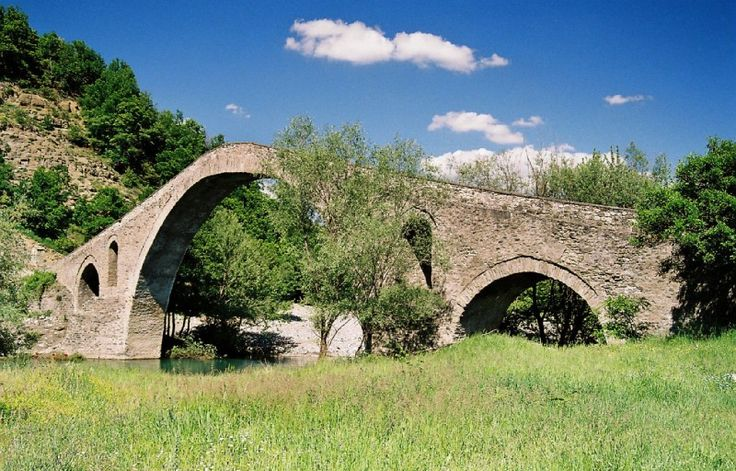 TRAVEL'IN GREECE   The bridge of Aziz aga, #Grevena, West Macedonia, #Greece, #travelingreece