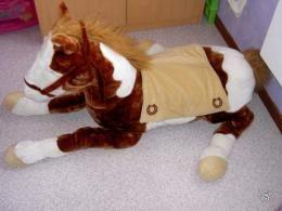 Peluche géante cheval